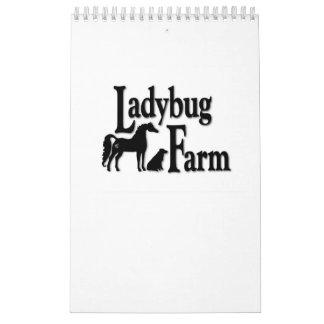 Calendario de la granja de la mariquita