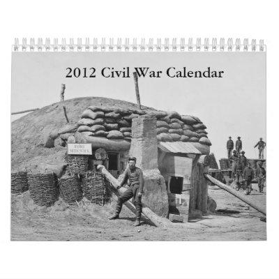 Calendario de la guerra civil 2012