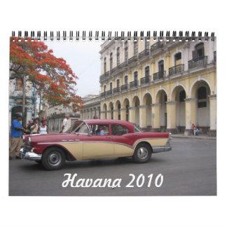 calendario de La Habana 2010