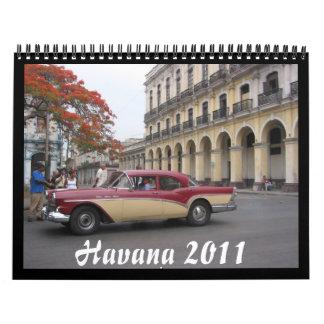calendario de La Habana 2011