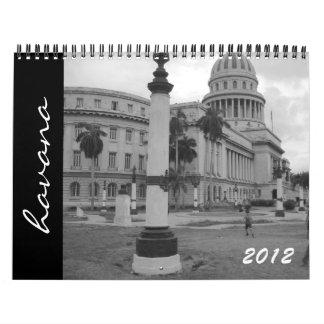 calendario de La Habana 2012