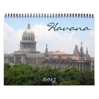 calendario de La Habana 2013