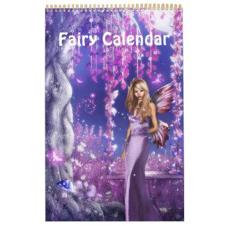 Calendario de la hada de la fantasía