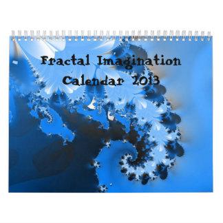 Calendario de la imaginación del fractal