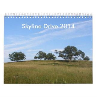 Calendario de la impulsión 2014 del horizonte