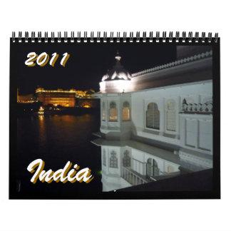 calendario de la India 2011