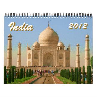calendario de la India 2012