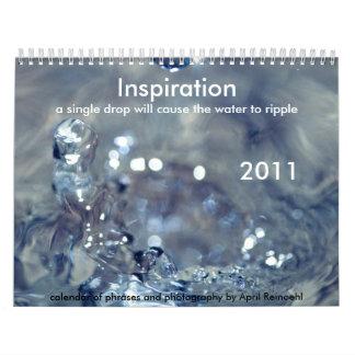 Calendario de la inspiración 2011