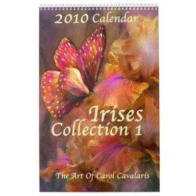Calendario de la Iris-Colección 1 para 2010
