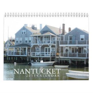 Calendario de la isla 2013 de Nantucket