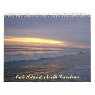 Calendario de la isla del roble, Carolina del