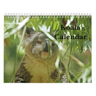Calendario de la koala