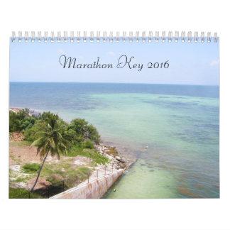 Calendario de la llave 2016 del maratón