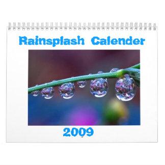 Calendario de la lluvia