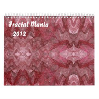Calendario de la manía del fractal