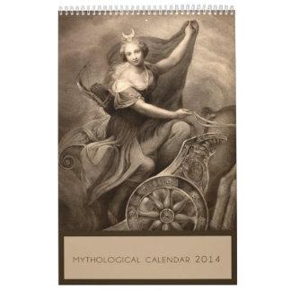 Calendario de la mitología 2014