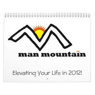 Calendario de la montaña de 2012 hombres
