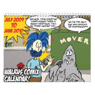 ¡CALENDARIO de la morsa! Calendario