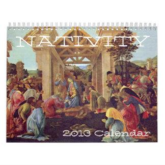 Calendario de la natividad