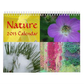 Calendario de la naturaleza 2013