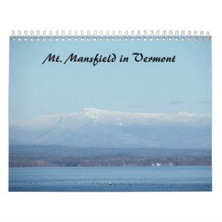 Calendario de la naturaleza de Adirondack