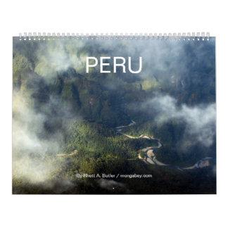 Calendario de la naturaleza de Perú