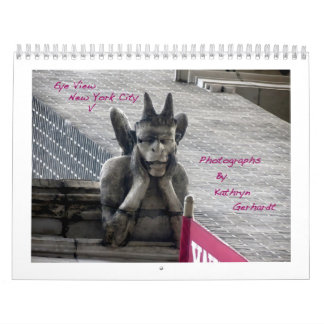 Calendario de la opinión V New York City del ojo