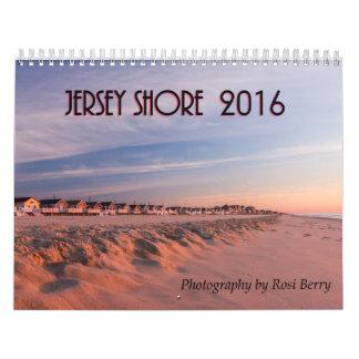 Calendario de la orilla 2016 del jersey