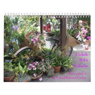 Calendario de la orquídea 2015
