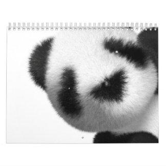 calendario de la panda 2012 del bebé 3d