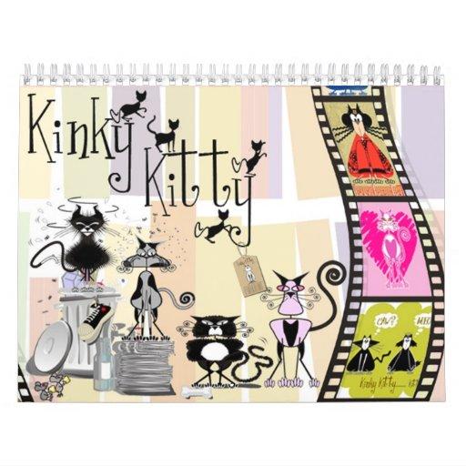 Calendario de la película 2012 del gatito