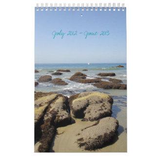 Calendario de la playa de Malibu