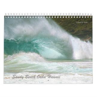 Calendario de la playa de Sandy