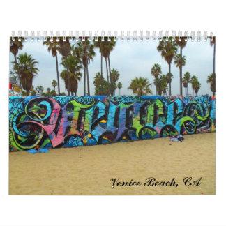 Calendario de la playa de Venecia