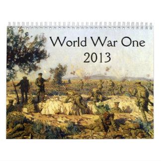 Calendario de la Primera Guerra Mundial