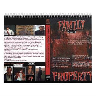 Calendario de la propiedad de la familia