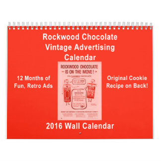 Calendario de la publicidad del Co del chocolate