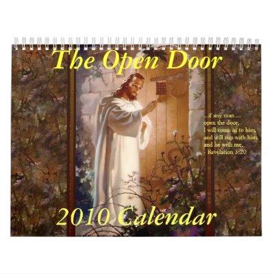 Calendario de la puerta abierta 2010