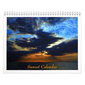 Calendario de la puesta del sol