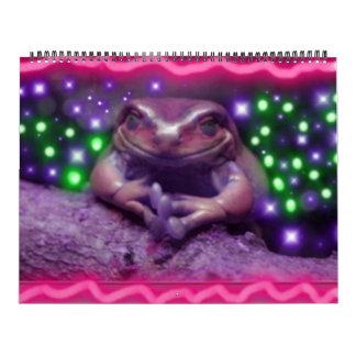 calendario de la rana del funki
