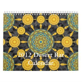 Calendario de la rata de desierto 2012