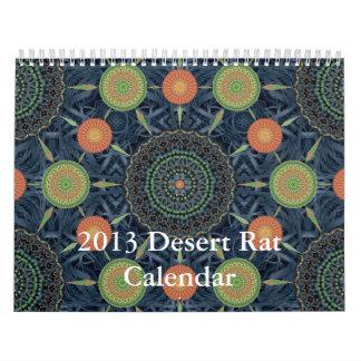 Calendario de la rata de desierto 2013