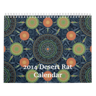 Calendario de la rata de desierto 2014