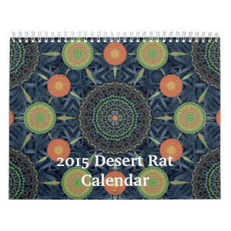 Calendario de la rata de desierto 2015
