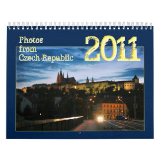 Calendario de la República Checa 2011