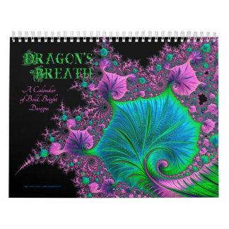 Calendario de la respiración del dragón
