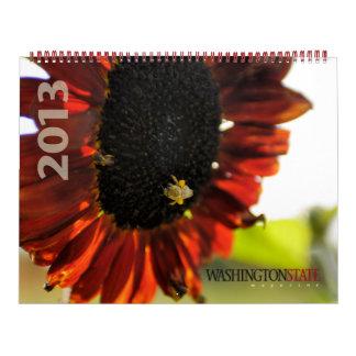 Calendario de la revista 2013 del estado de Washin
