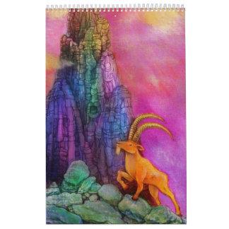 Calendario de la rueda del zodiaco