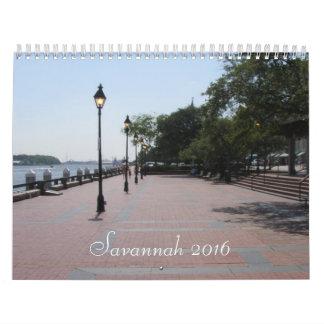 Calendario de la sabana 2016