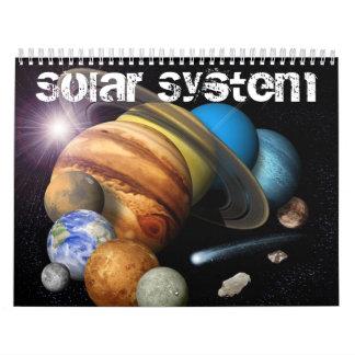 Calendario de la Sistema Solar